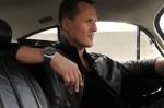 Michael Schumacher z modelem Royal Oak Offshore Michael Schumacher marki Audemars Piguet