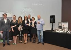 Ekipa reprezentująca markę Certina