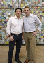 Sonny Vu (Misfit) i Greg McKelvey (Fossil Group)
