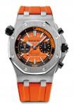 Audemars Piguet Royal Oak Offshore Diver Chronograph (pomarańczowy)