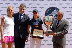 Hiszpanka Maria Dolorez Lopez Martinez, zwyciężczyni turnieju Longines Future Tennis Aces 2016