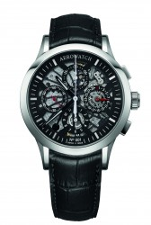 Aerowatch Les Grandes Classiques Semi-Skeletonised Chronograph