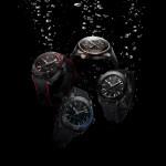 "Cztery nowe modele Seamaster Planet Ocean GMT ""Deep Black"""